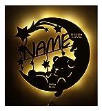Schlummerlicht24 Led Lampe personalisiert Babygeschenk Sweet Dream Taufgeschenke Geschenke zur...