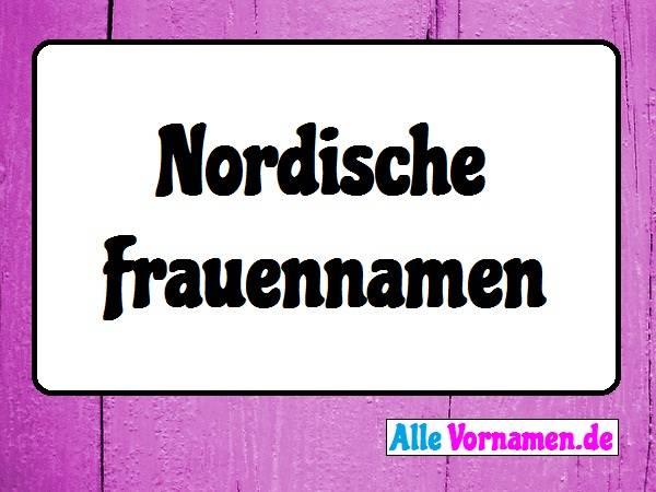 Nordische Frauennamen
