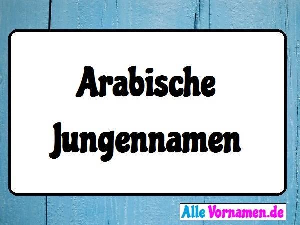 Arabische Jungennamen