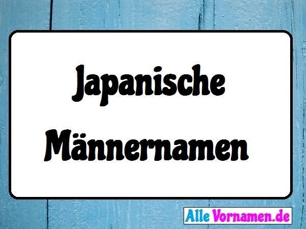 Nachnamen Japanisch