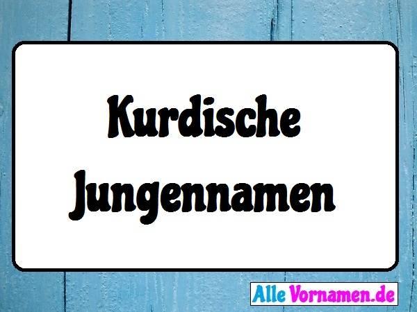 Kurdische Jungennamen