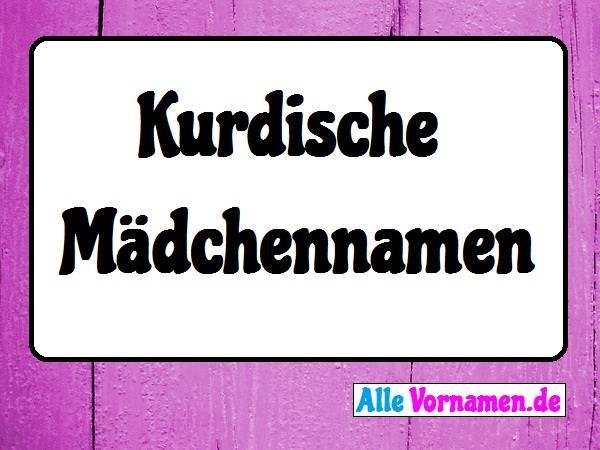 Kurdische Mädchennamen