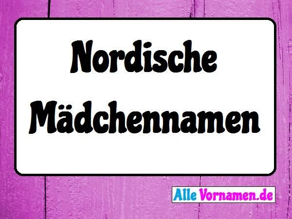 Nordische Mädchennamen
