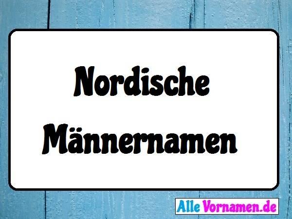 Nordische Männernamen