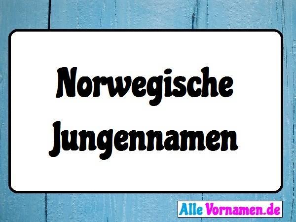 Norwegische Jungennamen