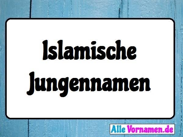 Islamische Jungennamen