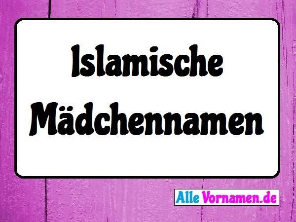 Islamische Mädchennamen