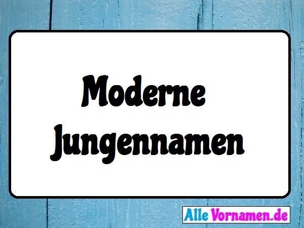 Moderne Jungennamen