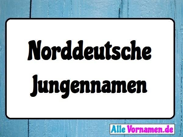 Norddeutsche Jungennamen
